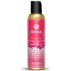 DONA Flirty Blushing Berry Massage Oil 110ml