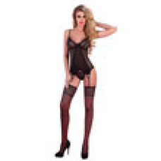 Corsetti Rafaella Black Basque Set